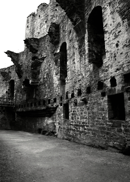 Conwy Great Hall 2 B+W
