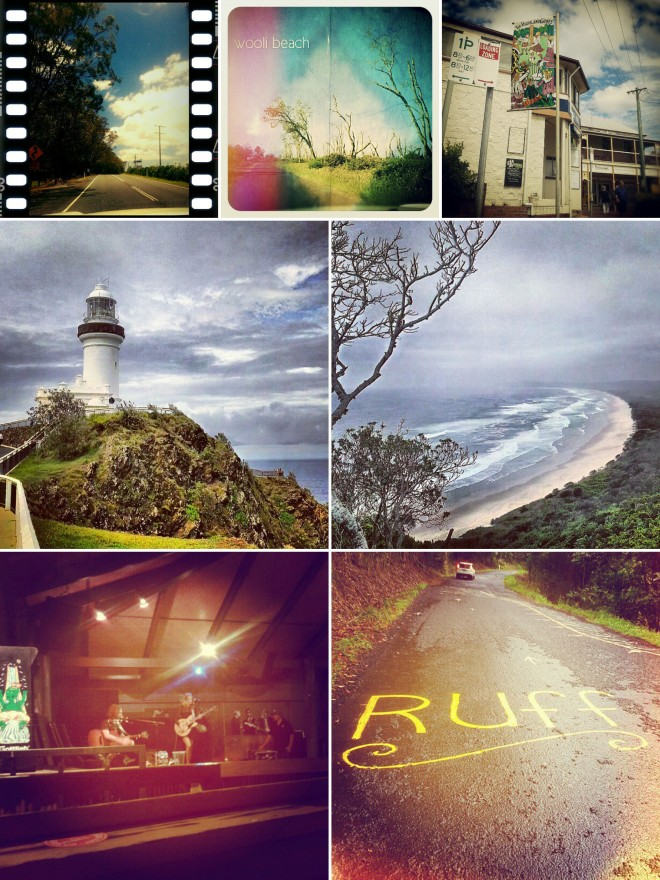mobile snapshots from byron bay