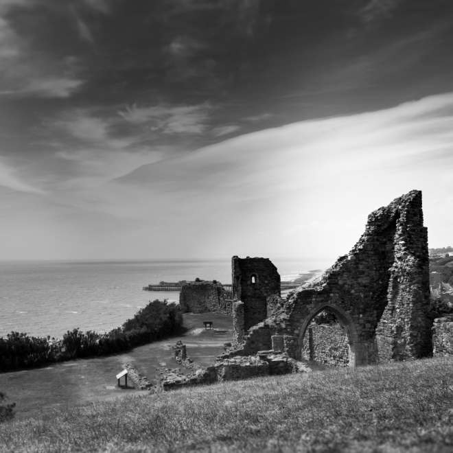 hastings castle - hexin photography
